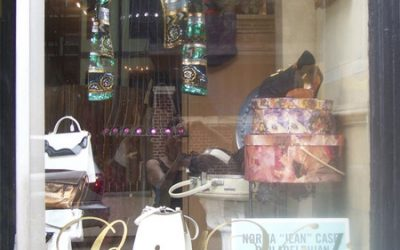 Norma Jean Case Vintage Collection Window