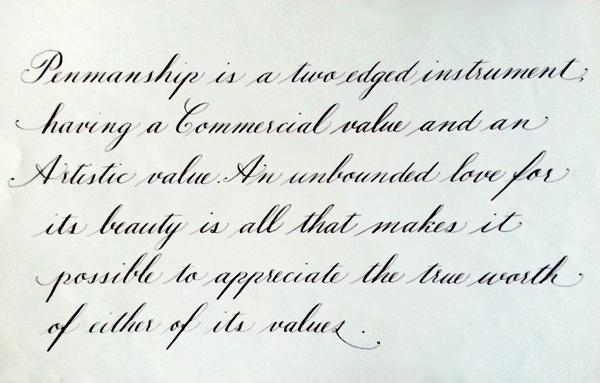 Hand written Calligraphy