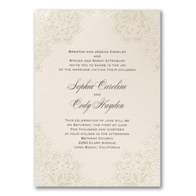 Sample Wedding Invitation