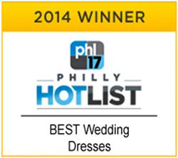 2014 Hotlist Award Best Wedding Dresses